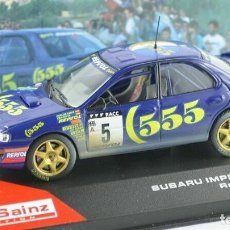 Auto in scala: SUBARU IMPREZA WRC RALLY CATALUNYA 1995 CARLOS SAINZ 1:43 IXO ALTAYA DIECAST. Lote 204214532