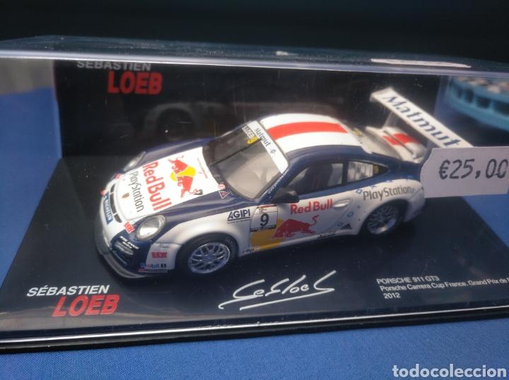 PORSCHE 911 GT3, GRAND PRIX DE PAU 2012, COLECCIÓN SEBASTIEN LOEB, 1/43, ALTAYA (Juguetes - Coches a Escala 1:43 Otras Marcas)