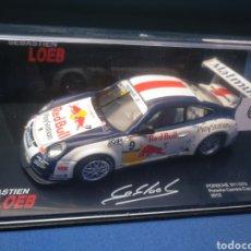 Coches a escala: PORSCHE 911 GT3, GRAND PRIX DE PAU 2012, COLECCIÓN SEBASTIEN LOEB, 1/43, ALTAYA. Lote 204429523