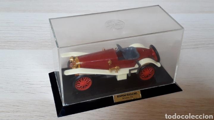 Coches a escala: Hispano Suiza Alfonso XIII ref 6005, plástico esc 1/43, Eko made in Spain, original años 60-70. Caja - Foto 2 - 204650510