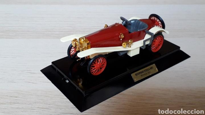 Coches a escala: Hispano Suiza Alfonso XIII ref 6005, plástico esc 1/43, Eko made in Spain, original años 60-70. Caja - Foto 3 - 204650510