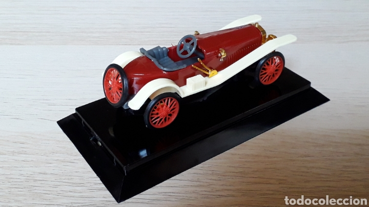 Coches a escala: Hispano Suiza Alfonso XIII ref 6005, plástico esc 1/43, Eko made in Spain, original años 60-70. Caja - Foto 4 - 204650510