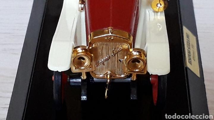 Coches a escala: Hispano Suiza Alfonso XIII ref 6005, plástico esc 1/43, Eko made in Spain, original años 60-70. Caja - Foto 6 - 204650510
