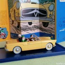 Carros em escala: COCHE COLECCIÓN TINTIN DESCAPOTABLE BORDURIO -EL ASUNTO TORNASOL- Nº 16. Lote 204685765