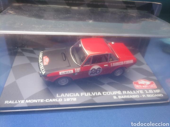 LANCIA FULVIA COUPÉ RALLYE 1.6 HF, RALLY MONTECARLO 1972, NUEVA COLECCIÓN ITALIA, NUEVO Y EN CAJA (Juguetes - Coches a Escala 1:43 Otras Marcas)