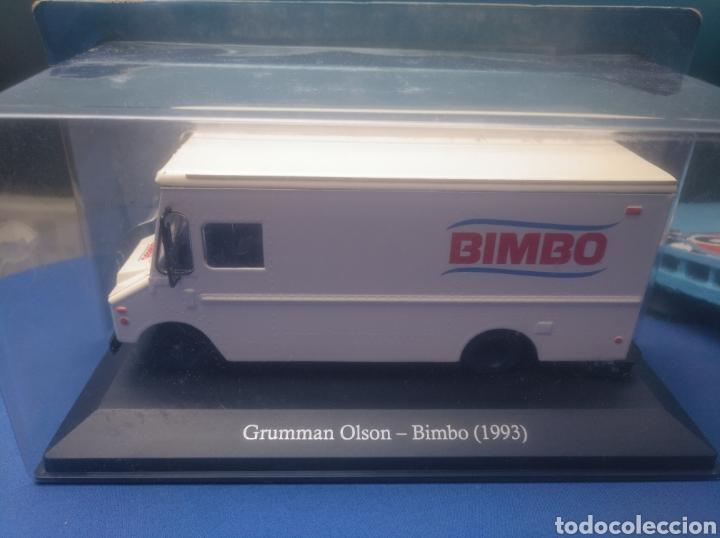 GRUMMAN OLSON- BIMBO (1993),, COLECCIÓN SERVICIOS DE ARGENTINA,, 1/43, NUEVO Y EN BLISTER. (Juguetes - Coches a Escala 1:43 Otras Marcas)