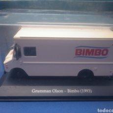 Coches a escala: GRUMMAN OLSON- BIMBO (1993),, COLECCIÓN SERVICIOS DE ARGENTINA,, 1/43, NUEVO Y EN BLISTER.. Lote 205396956