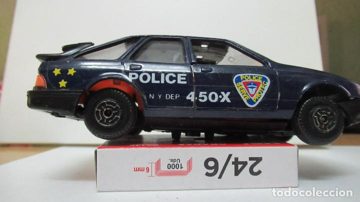 457 FORD SIERRA POLICIA DE GUISVAL ESCORPION 1ª SERIE (Juguetes - Coches a Escala 1:43 Otras Marcas)