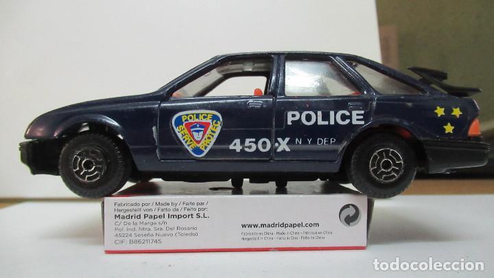 Coches a escala: 457 FORD SIERRA POLICIA DE GUISVAL ESCORPION 1ª SERIE - Foto 3 - 206210538
