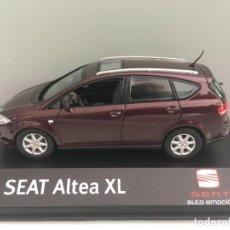 Coches a escala: COCHE SEAT ALTEA XL PURPURA METÁLICO. ESCALA 1/43.. Lote 206367493