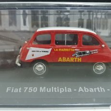 Coches a escala: FIAT 750 MULTIPLA ABARTH DE 1960. Lote 206930096