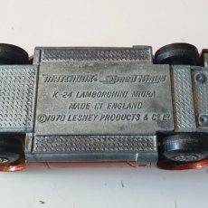 Coches a escala: COCHE MATCHBOX SPEED KINGS K- 24 LAMBORGHINI MIURA MADE IN ENGLAND 1970 LESNEY. Lote 207123017