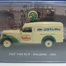 Coches a escala: FURGONETA FIAT 1100 ELR DE 1951.. Lote 207643773