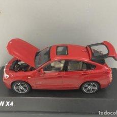 Coches a escala: COCHE BMW X4 MELBOURNE ROJO METÁLICO. ESCALA 1/43.. Lote 276379498