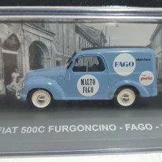 Coches a escala: FIAT 500C DE 1950.. Lote 207926567
