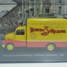 Coches a escala: FIAT 615 FRIGORÍFICO DE 1955.. Lote 207927031
