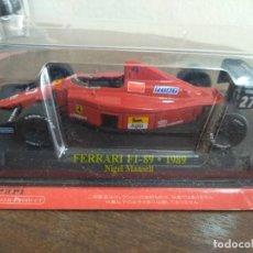 Carros em escala: FERRARI F1 89 1989 NIGEL MANSELL 1:43. Lote 208778373