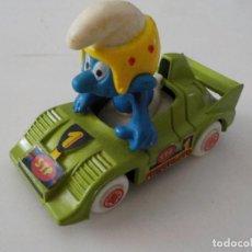 Auto in scala: PITUFO EN COCHE GUISVAL.. Lote 209006045