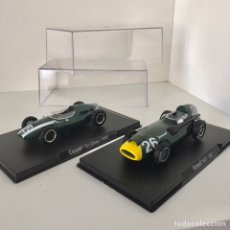 Voitures à l'échelle: RBA LOTE DOS COCHES: COOPER T51 - CLIMAX + VANWALL VW57. Lote 209577277