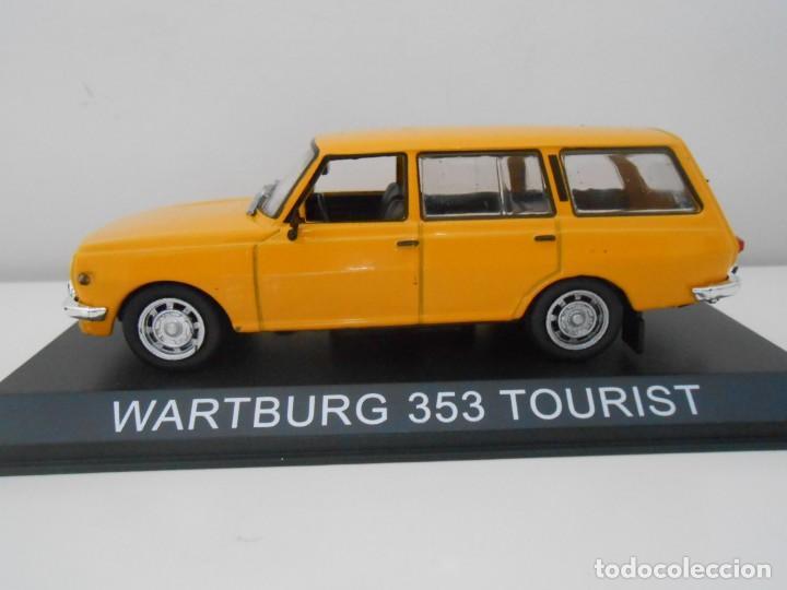 COCHE WARTBURG 353 TOURIST MODEL CAR 1/43 1:43 MINIATURE MINIATURA ALFREEDOM (Juguetes - Coches a Escala 1:43 Otras Marcas)