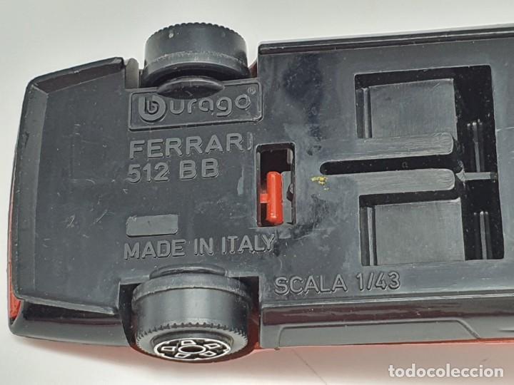 Coches a escala: COCHECITO BURAGO FERRARI 512BB ( SCALA 1/43 ) MADE IN ITALY - Foto 7 - 210016958