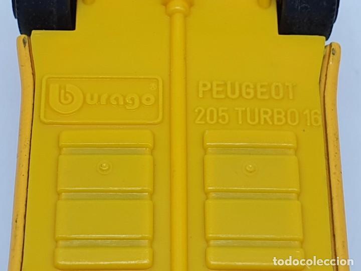 Coches a escala: COCHECITO BURAGO PEUGEOT 205 TURBO 16 ( SCALA 1/43 ) MADE IN ITALY - Foto 9 - 210017068