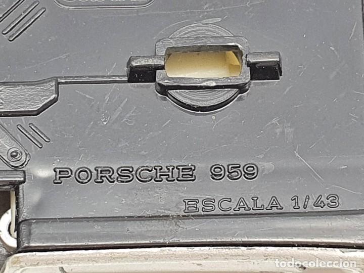 Coches a escala: COCHECITO GUISVAL PORSCHE 959 ( ESCALA 1/43 ) MADE IN SPAIN - Foto 11 - 210017436