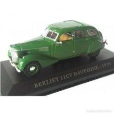 Voitures à l'échelle: BERLIET 11CV DAUPHINE 1939 1:43 COCHES FRANCESES DE ANTAÑO IXO ALTAYA DIECAST. Lote 210093520