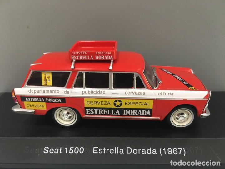 COCHE SEAT 1500 ESTRELLA DORADA 1967. ESCALA 1/43 (Juguetes - Coches a Escala 1:43 Otras Marcas)
