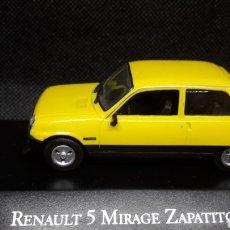 Coches a escala: RENAULT 5 MIRAGE ZAPATITO. Lote 210353857