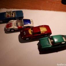 Carros em escala: LOTE DE CUATRO COCHES MINIATURA JOAL ESCALA 1/43. SEAT , MERCEDES, PORCHE Y FERRARI.. Lote 210707782