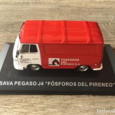 """Carros em escala: FURGONETA CLÁSICA DE ANTAÑO SAVA PEGASO J4 """" FÓSFOROS DEL PIRINEO """" ALTAYA. Lote 210823315"""