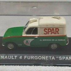 Auto in scala: RENAULT 4 F4 FURGONETA SPAR 1:43 NUEVO. Lote 211456836
