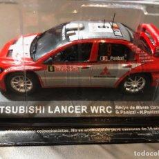 Coches a escala: MITSUBISHI LANCER WRC- G. PANIZZI-H.PANIZZI-1/43 - RALLY MONTE CARLO 2004. Lote 211971733