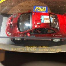 Coches a escala: PEUGEOT 307 WRC - M.MARTIN - M.PARK- 1/43 - SWEDISH RALLY 2005. Lote 211972665