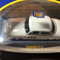 Coches a escala: PANHARD PL17- M. MARTIN - R. BATEAU- 1/43 - RALLY MONTE CARLO 1961. Lote 211973603
