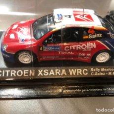 Coches a escala: CITROEN XSARA WRC - CARLOS SAINZ - MARC MARTI - 1/43 - RALLY MEXICO 2004. Lote 211974833