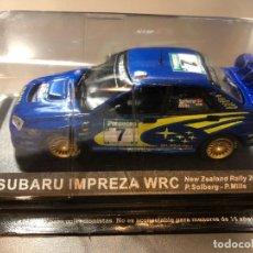 Coches a escala: SUBARU IMPREZA WRC - P. SOLBERG - P. MILLS - 1/43 - RALLY NEW ZEALAND 2003. Lote 211975093