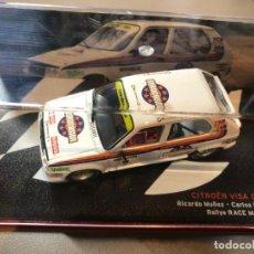 Coches a escala: CITROEN VISA CHRONO - RICARDO MUÑOZ - CARLOS HERNANDEZ - 1/43 - 5 RALLY RACE MADRID 1984. Lote 211977016