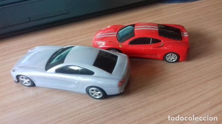 Coches a escala: Lote dos Ferraris y regalo de un tercero de formula 1 - Foto 2 - 211981585
