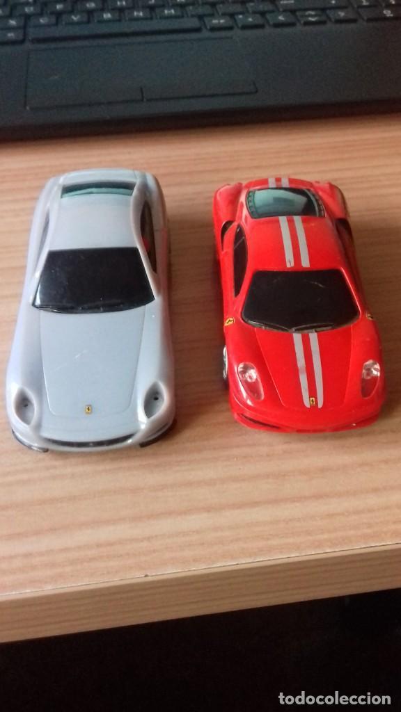 Coches a escala: Lote dos Ferraris y regalo de un tercero de formula 1 - Foto 7 - 211981585