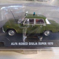"""Coches a escala: ALFA ROMEO GIULIA SUPER 1970 """"CARABINERI"""" 1:43. Lote 212144837"""