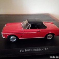 Coches a escala: FIAT 1600S CABRIOLET 1965 - NOREV ESCALA 1/43. Lote 212168008