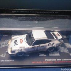 Coches a escala: PORSCHE 911 CARRERA RS, RALLY DE ESPAÑA 1977, COLECCION ESPAÑOLA VENCEDORES DE RALLY, ALTAYA, 1/43. Lote 212387387
