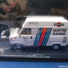 Coches a escala: FIAT DUCATO MARTINI RACING TEAM 1984, TEST FRANCIA, ASISTENCIAS DE RALLY, ALTAYA, 1/43. Lote 212919761