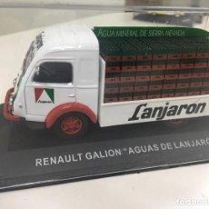 """Auto in scala: RENAULT GALION """"AGUAS DE LANJARÓN"""". FURGONETAS DE ANTAÑO. ESCALA 1:43 METAL. Lote 213458480"""