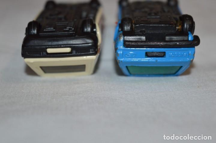 Coches a escala: GUILOY Esc 1:43 - 1/43 SEAT RITMO y FORD FIESTA - MADE IN SPAIN - Originales y antiguos ¡Mira! - Foto 10 - 213656515
