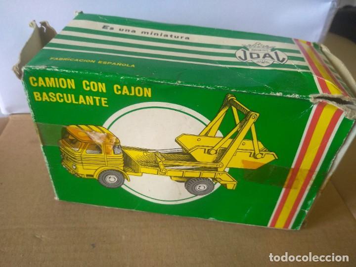 Coches a escala: JOAL CAMION CON CAJON BASCULANTE CON CAJA ORIGINAL REF 211 - Foto 12 - 213966627