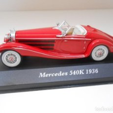 Coches a escala: COCHE MERCEDES 540K 1936 1/43 1:43 METAL MODEL CAR MINIATURE ALFREEDOM. Lote 214291008