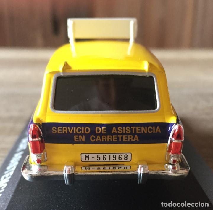"""Coches a escala: FURGONETA CLÁSICA DE ANTAÑO SEAT 1500 """" SEAT ASISTENCIA """" ALTAYA - Foto 4 - 214773560"""